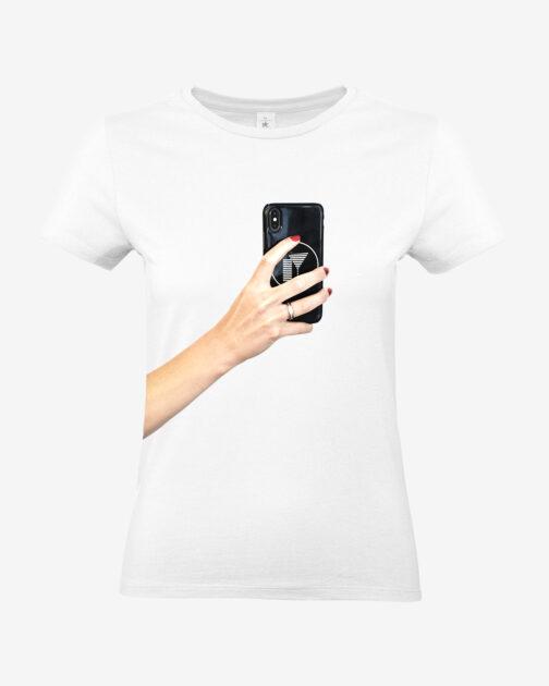 Selfie Generation White Tee